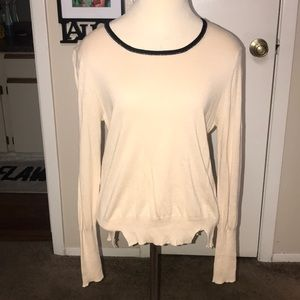 Band of Outsiders cream sweater